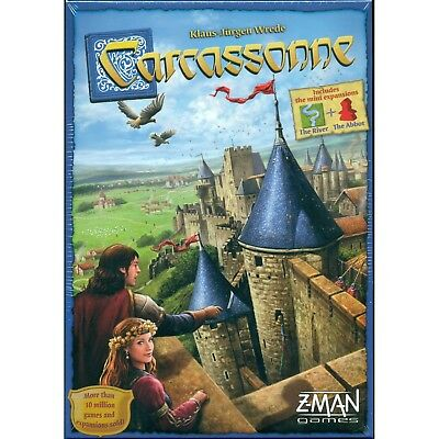 Z-Man - Carcassonne Board Game