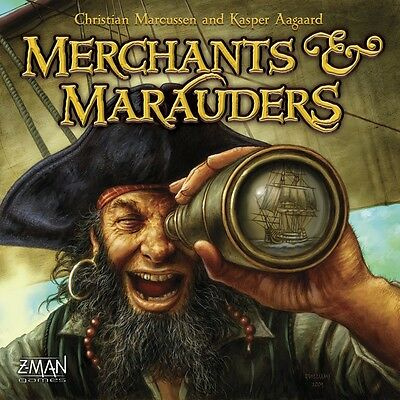 Z-Man - Merchants and Marauders Board Game