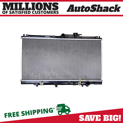 Direct Fit Complete Aluminum Radiator fits 94-01 Acura CL Honda Accord Prelude