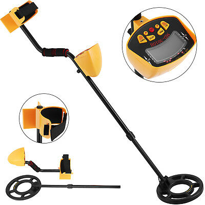 Metal Detector Gold Digger Hunter Deep Sensitive Search LCD Treasure
