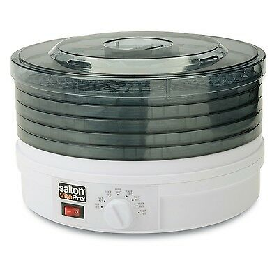 Salton - VitaPro Food Dehydrator with Collapsible Trays