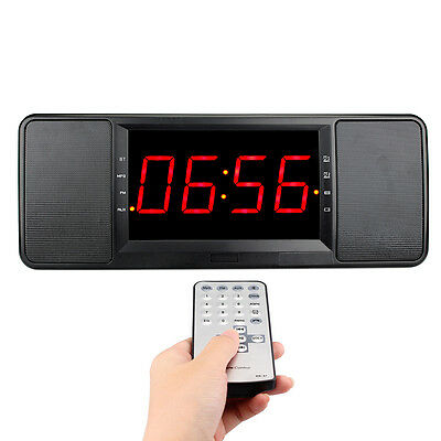 Digital Bluetooth Speaker FM Radio Alarm Clockmp3 Player with Remote Control Hot
