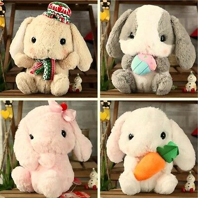 Hot Amuse Kawaii Lolita Loppy Bunny Rabbit Soft Plush Toy Doll Kid's XMAS Gift
