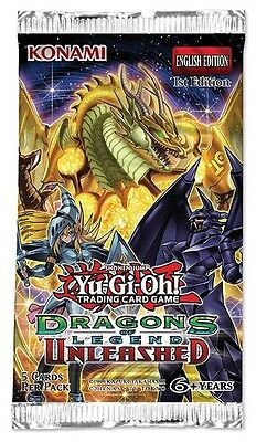 Yu-GI-Oh! Dragons of Legend Unleashed Booster Pack | Free Shipping