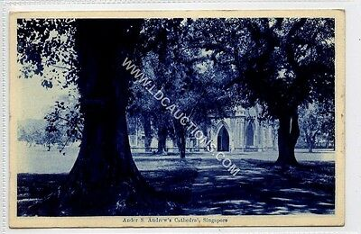 (Gy725-460) Ander S.Andrews Cathedral, SINGAPORE c1910 VG+