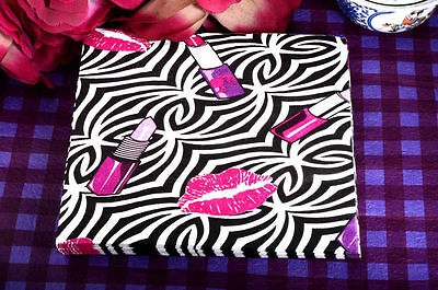 4 x Zebra Makeup Brush Paper Napkins Serviettes For Cocktail Party 01-B14