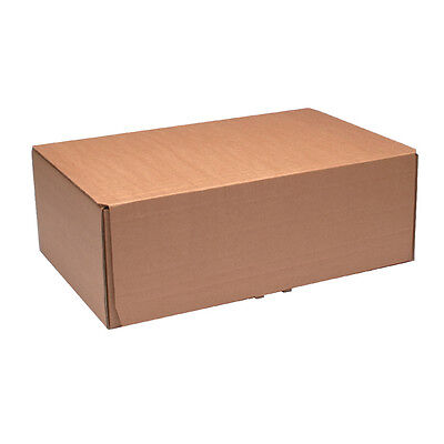 BROWN POSTAL SHIPPING MAILING BOX CARTON // 395 x 255 x 140mm // Pk20 //43383252