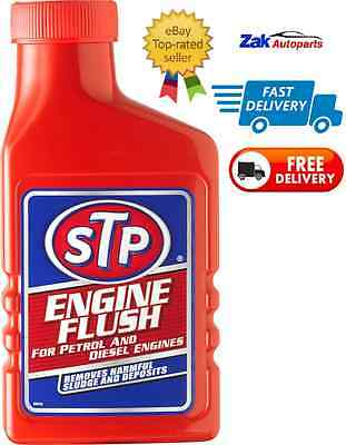 STP Engine Flush For Petrol Or Diesel Engines 450ML Oil Flushing Clean Additive