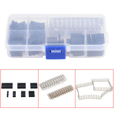 310Pcs Male Female Dupont Wire Jumper and Header Connector Housing Assortment