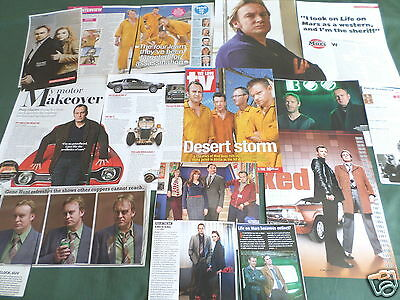 Philip Glenister-  Tv Actor  - Clippings /cuttings Pack