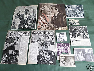 Richard Greene - Film Star - Clippings /cuttings Pack