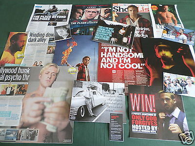Ryan Gosling - Film Star - Clippings /cuttings Pack
