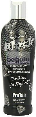 ProTan BODACIOUSLY BLACK Sunbed Tanning Accelerator Lotion Cream Bronzer 250ml