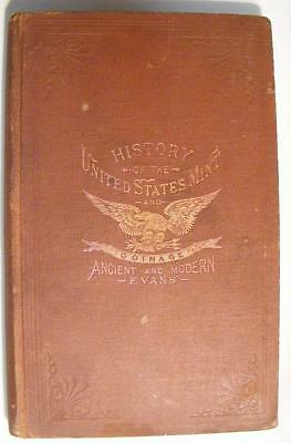 1894 Book: History Of The United States Mint & Coinage Ancient & Modern by Evans