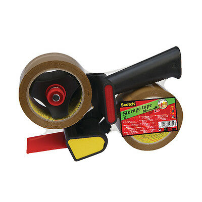Scotch Pistol Grip Tape Dispenser Gun With 2 Rolls Of Packing Tape // Ln5066R21