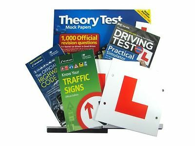 Learner Driver Test Pack Incl: Practical Simulator With 60+ Lessons