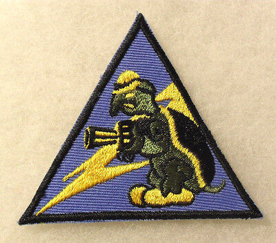 40/50's 132Nd Tank Battalion Embroidered On Twill Cut Edge