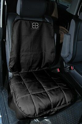 Petego Front Bucket Seat Car Auto Pet Dog Protector Cover Black