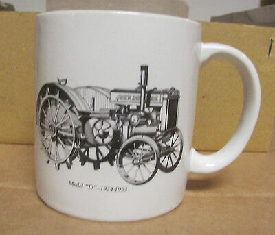 John Deere Model D / Go With The Green set of 6 Vintage Coffee Cup Mugs