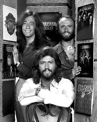 Musical Group BEE GEES Glossy 8x10 Photo Print Portrait Barry Robin Maurice Gibb