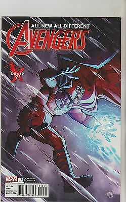 Marvel Comics All New All Different Avengers #12 Sept 2016 Death Of X Variant Nm