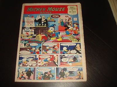 MICKEY MOUSE WEEKLY December 1st 1951  UK Disney Comic