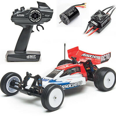 Associated 9042 RC10B4.2 Race Spec Brushless off-road Buggy 1/10 2wd RTR Red/Wht