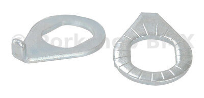 """3/8"""" bicycle axle retainer safety washer for DEPARTMENT STORE BICYCLE forks PAIR"""