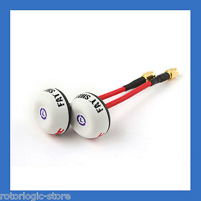 ImmersionRC-Fat Shark SpiroNet 5.8GHz LHCP Antenna Set (2 antennas) -US Dealer