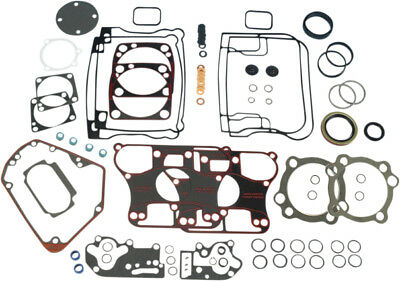 James Gaskets Motor Gasket Kit w/ Metal Base Gaskets For Harley JGI-17041-92-A