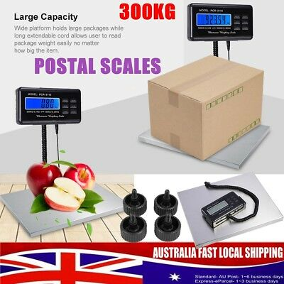 Digital Heavy Duty Platform Industrial Parcel Scale Dual Capacities 150 & 300Kg