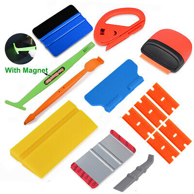 Car Window Tint Tools Kit Auto Film Tinting Squeegee Application Installation