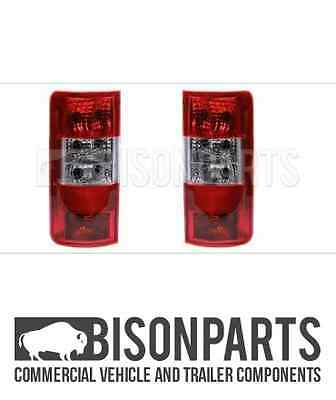*ford Transit Connect 02-09 Rear Back Lights Tail Lamp Lens Both Side Tra028/029