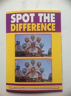 Spot the Difference Book - yellow cover