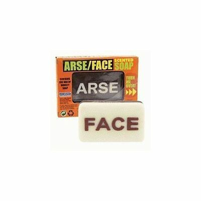 """Arse/Face"" Scented Soap Funny Novelty Gift Bathroom Shower"