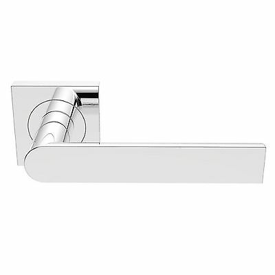 Carlisle Brass - SZM210SQCP - Serozzetta Edge Lever on Square Rose (Pair)
