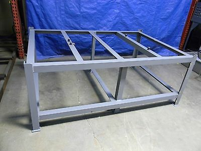 """Made in USA 00150615 72"""" x 48"""" Stationary Surface Plate Stand w/ Screws"""