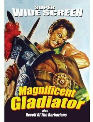 The Magnificent Gladiator / Revolt of the Barbarians [New DVD]