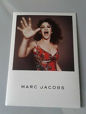 Marc Jacobs Female Optical Countercard Poster  Size 11.7 X 8.2 Inches