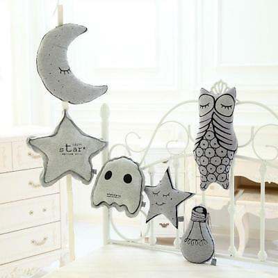 Glow in Night Back Cushion Soft Baby Comforter Toy Nursery Home Sofa Ornament