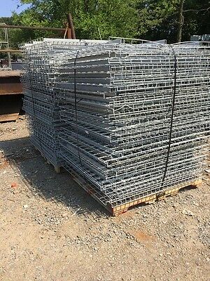 "Pallet Rack Wire Decking 44"" x 50"" Interlake Pallet Racking Grate"