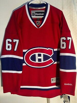 NHL Montreal Canadiens Max Pacioretty Premier Ice Hockey Shirt Jersey