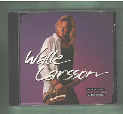 WALLE LARSSON Behind The Storm CD 1995 MINT Canadian  Jazz Sax