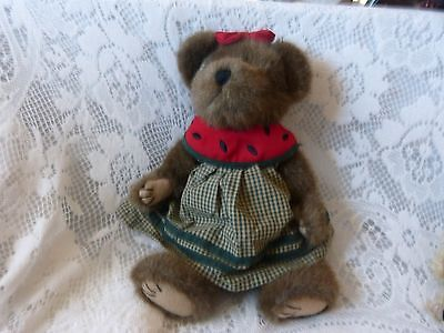 MELANIE MC RIND  TJ's Best Dressed Collection Boyds Bears