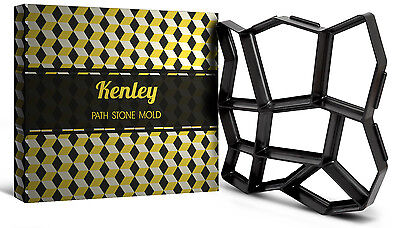 Kenley Path Maker Reusable Mould Concrete Cement Stone Walk Paving Pattern Paver