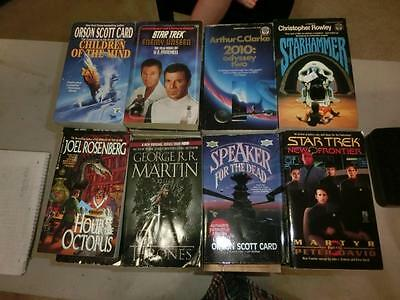 Lot of 83 Science Fiction Fantasy Books PBs Sci-Fi NR