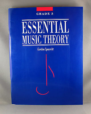 Essential Music Theory Grade 3 by Gordon Spearritt - Brand New