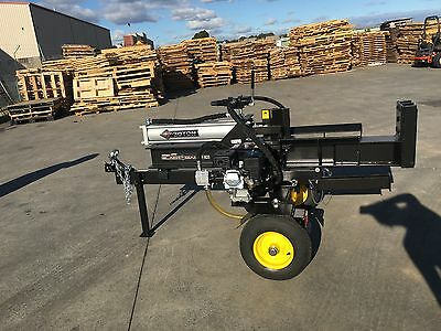 LOG SPLITTER Hydraulic 30Ton 6.5HP Petrol Wood Splitter $1299 Best Buy Online!