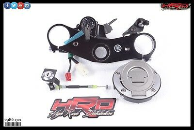 2009 Yamaha YZF-R6 YZF R6 OEM Complete Ignition with Keys Tank & Tail Lock Set