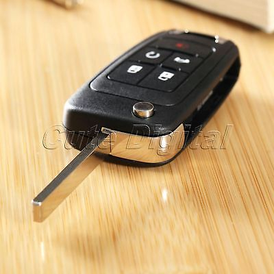 Flip Key Shell Remote Key Case Fob for CHEVROLET Camaro Equinox Volt Spark Sonic